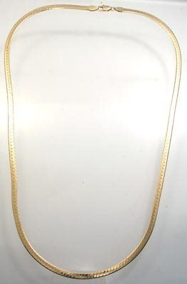 264: 14KY 3mm Gold Chain
