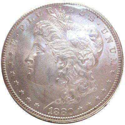 1270: 1880 *S* MORGAN SILVER DOLLAR