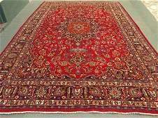 1399: Stunning Large Persian Kashan Rug 13x9