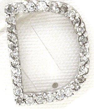 1561: 14KW Diamond D Initial