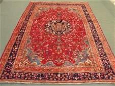 1599: Amazing Beauty Persian Mashad Rug 9x7