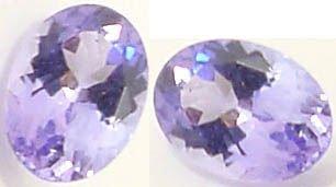 2568: .86ct 6x5mm Tanzanite oval loose