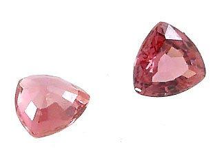 2569: .50ct Pink Sapphire Trillion Loose