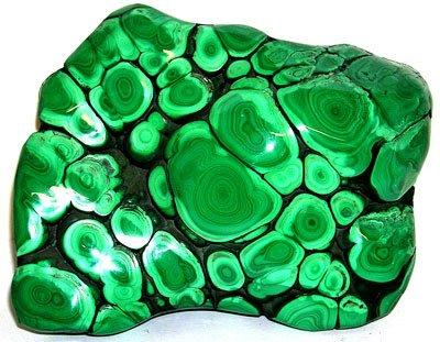 2571A: 9071ct Polished Malachite 5x4