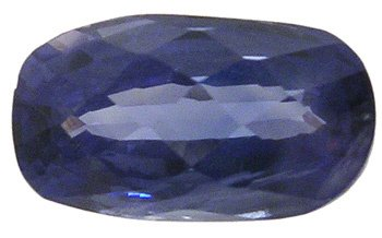 3613: 2.99ct Sapphire oval Checkerboard loose gem: 7579