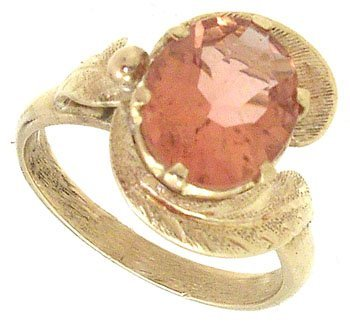 3259: 14KY 2.67ct Pink Tourmaline Oval Ring 770096