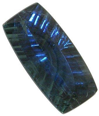 4366: 17.98ct Blue Indicolite Tourmaline 24x12mm APPRAI
