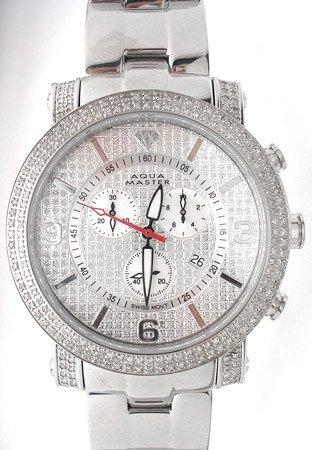 4620A: Aqua Master 3.50cttw Diamond/MOP watch