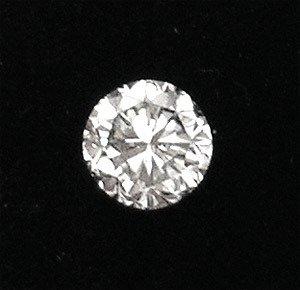 465: 1.06ct diamond round SI1 L Appraised $5565