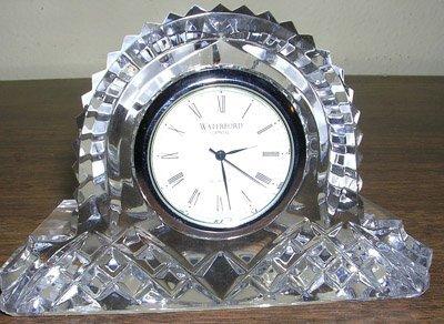 5397: Waterford Crystal Clock