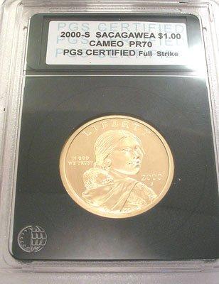 5400: 2000-S Sacagawea Dollar P.G.S.