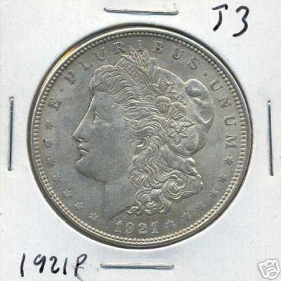 5018: 1921 P Morgan Silver Dollar
