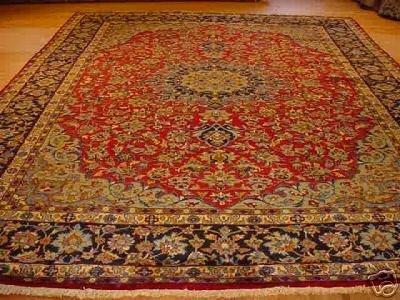 1524: SUPER CLASSIC PERSIAN ISFAHAN 10x13