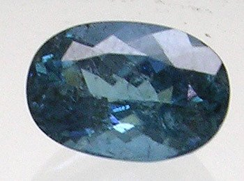 2405: 4.27 cts LOOSE Indicolite Oval 12x8 APPRAISAL