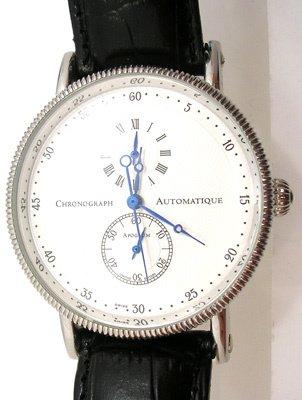 2820: Swiss APOGAUM Watch CHRONO Skeleton Limited editi