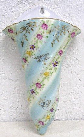 2823: Limoges China Wall Pocket or Vase