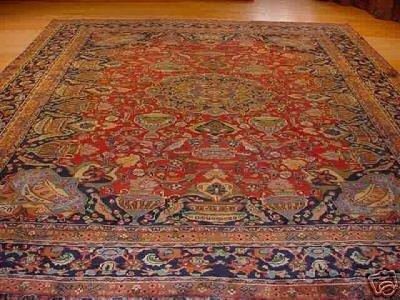 2899: SUPER HUNTING PERSIAN IMPERIAL KASHMAR 10x13
