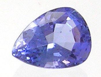 3404: 1ct 7.5x5.5 Tanzanite Pear LOOSE
