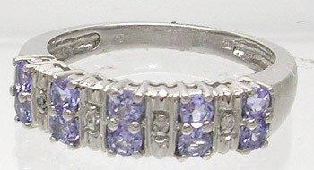 3406: 10wg Tanzanite Diamond Ring