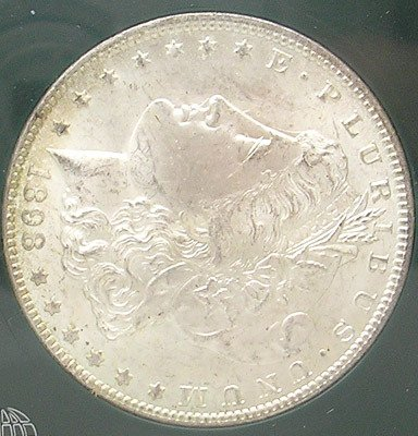 3420: 1898 MORGAN O DOLLAR SILVER