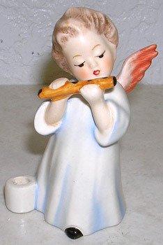3425: Hummel Figurine Angel Playing Flute by Goebel