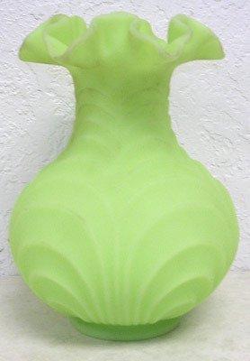 4421: Fenton Ruflled Edge Vase