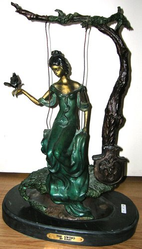 4846: Bronze Reproduction of the Swing By Icart