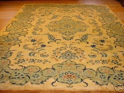 774: SUPER SUPER ANTIQUE PERSIAN CLASSIC KASHAN 9x13