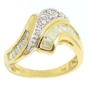 2005: .65ct diamond bagguette channel band ri