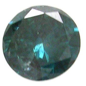 1462: 1.95ct Round-Cut GREEN DIAMOND apr :$6552