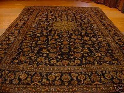 1476: SUPER FINE PERSIAN KASHAN RUG 8x13