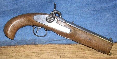 10021: 20th Century 45 Cal. Percussion Pistol
