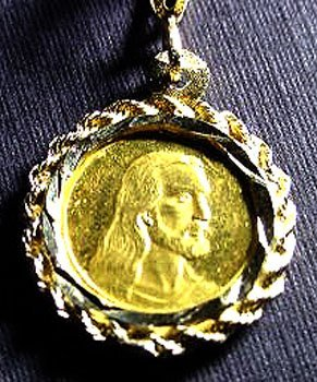 1826: 14 kt. GOLD Unique Pendant/Coin MUST SEE!