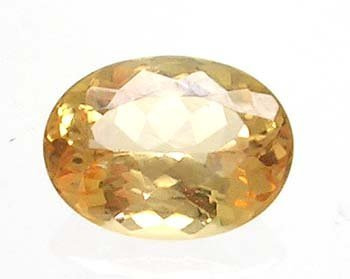 2833: 1.75ct Imperial Topaz Oval Cut 8.5x6.5mm