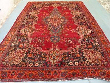 2974: Stunning Large Persian Kirman Rug 13x9 Rare Beaut