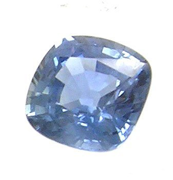 3841: 1.52ct Blue Sapphire Cushion 6mm