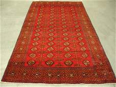 423: Semi Antique Afghan Kurdish Rug 10x5