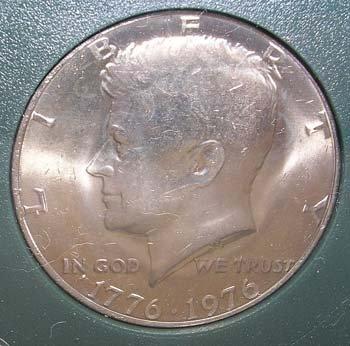 639: 1976 Kennedy Half Dollar P.G.S. 3 Coin Collection