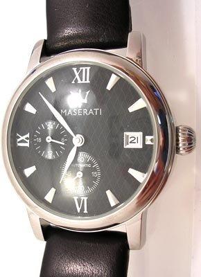 644: Maserati Racing Classic chrono Automatic Watch Bla
