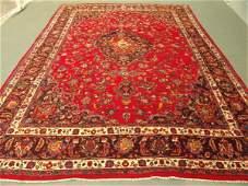 725B: Signed Large Persian Kashan Rug 11x8
