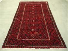 1698: Semi Antique Afghan Kurdish Rug 10x5