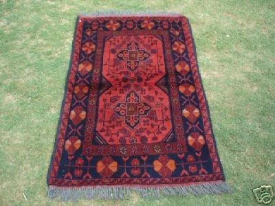 1220: Exotic S.Antique Khal Muhammady Rug 4 x 3