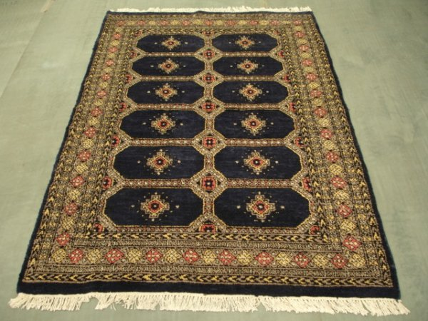 1221: New Pak Uzbek Bokara Rug 6x4