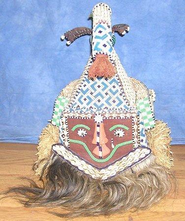 15000: The Bakuba Royal Initiation Rites Mask C. 1800s