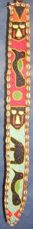 15013: Authentic 3ftx4inches Ashanti African Belt