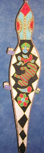 15016: Authentic 4ft.x10inch Lizard African Belt