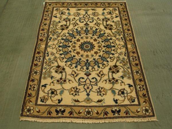 15018: Amazing Persian Nain Rug 4x3