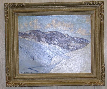 2746: Oil on Canvas by Listed Artist A.T. Hibbard