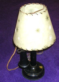 13004: Old Fashioned Telephone Electric Lamp