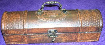 13006: Magnificent Leather Clad Box